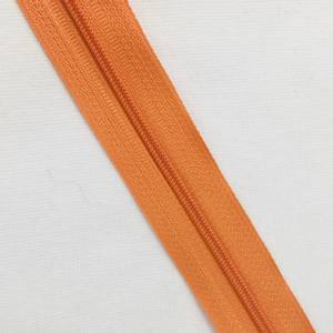 Bilde av glidelås metervare oransje